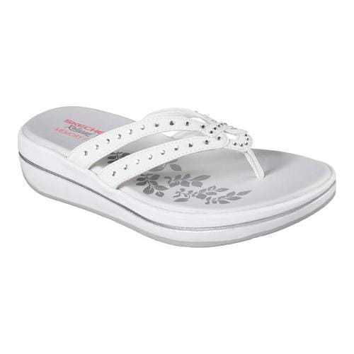 Skechers Relaxed Fit Upgrades Be Jeweled Thong (Women's) 8gWqrcoy