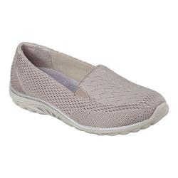 Women's Skechers Relaxed Fit Reggae Fest Willows Slip On Dark Taupe