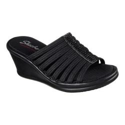 afe38c05c62a Women s Skechers Rumblers Hotshot Wedge Slide Black Black
