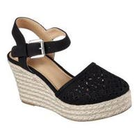 Women's Skechers Turtledove Ankle-Strap Espadrille Black