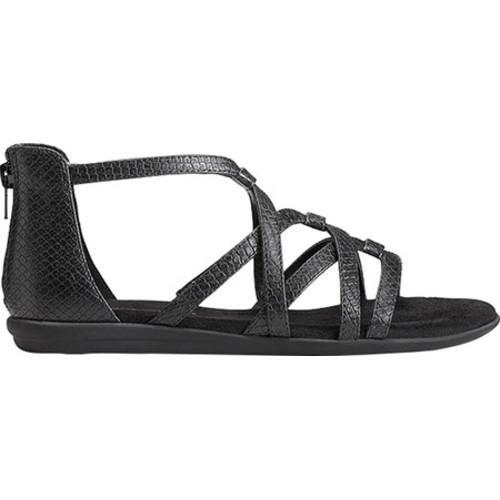 6730f9eb012 ... Thumbnail Women  x27 s Aerosoles Ocean Chlub Gladiator Sandal Black  Snake Printed Faux Leather ...