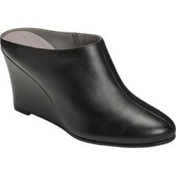 Women's Aerosoles Art Class Mule Black Leather