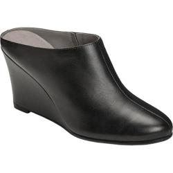 Women's Aerosoles Art Class Mule Black Leather|https://ak1.ostkcdn.com/images/products/175/588/P21143809.jpg?impolicy=medium