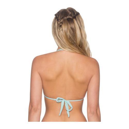 Women's B. Swim Coco Halter Bikini Top Dawn Blue - Thumbnail 1