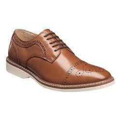 Men's Florsheim Union Cap Toe Oxford Cognac Leather