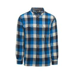 Men's Woolrich Stone Rapids Eco-Rich Shirt Blue Jay Buffalo