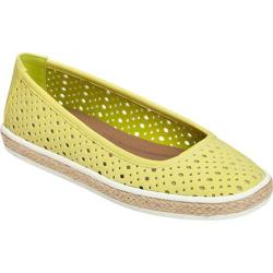 Women's A2 by Aerosoles Trust Fund Espadrille Light Green Combo Faux Leather