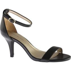 Women's Bandolino Madia Sandal Black Faux Leather