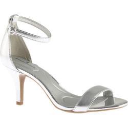 Women's Bandolino Madia Sandal Silver Metallic Faux Leather