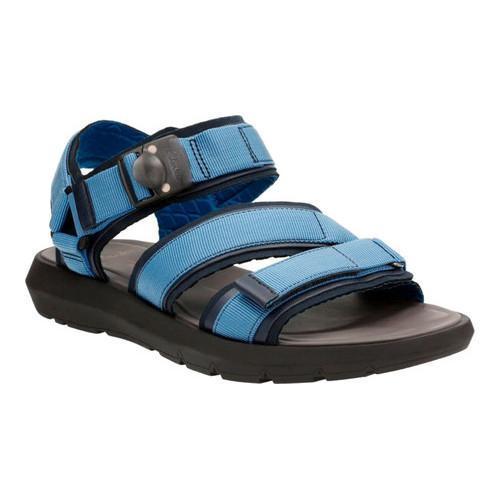 7cf919d182e6 Shop Men s Clarks Jacala Mag Walking Sandal Navy Textile - Free Shipping  Today - Overstock - 14608371