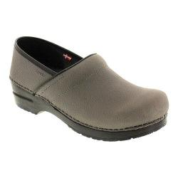 Women's Sanita Clogs Professional Oil Grey