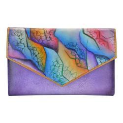 Women's Anuschka Checkbook Wallet Cosmic Quest
