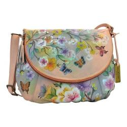 Women's Anuschka Large Flap-Over Convertible Japanese Garden