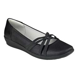 Women's Easy Spirit Aubree Flat Black Fabric