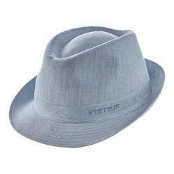 Men's Stetson STC272 Fedora Light Blue|https://ak1.ostkcdn.com/images/products/175/893/P21174774.jpg?impolicy=medium