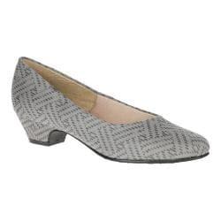 Women's Soft Style Angel II Light Grey Pixel Fabric