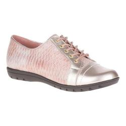 Women's Soft Style Valda Oxford Rose Quartz Snake Print Synthetic