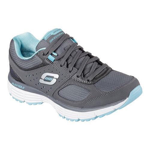 68159766a7b68 Shop Women's Skechers Agility Ramp Up Charcoal/Turquoise - Free Shipping On  Orders Over $45 - Overstock.com - 14641469