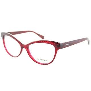 Zac Posen Cat-Eye Jayce RD Womens Red Frame Eyeglasses