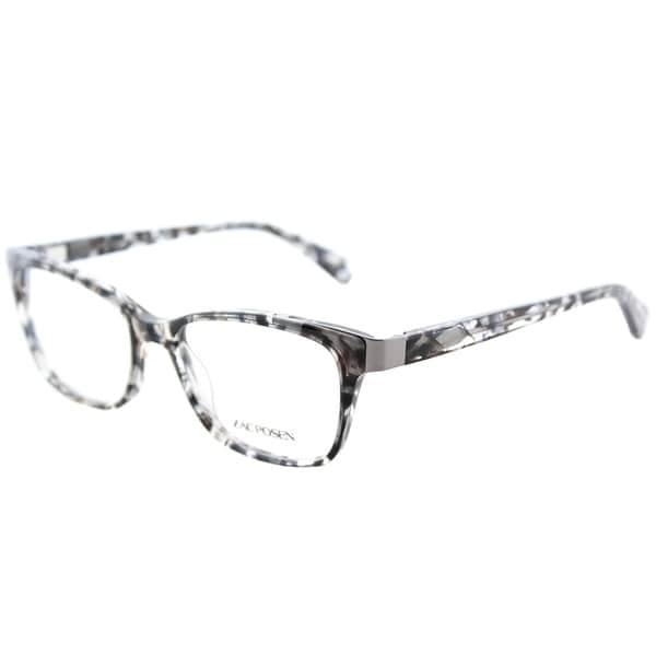 9cd7a58214d Zac Posen Rectangle Sia BL Unisex Blue Tortoise Frame Eyeglasses
