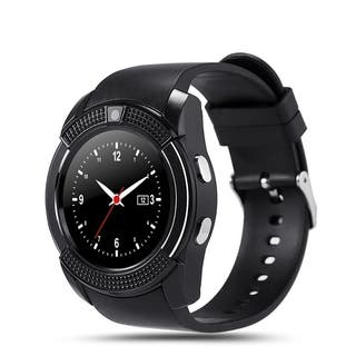 V8 Smart Watch support Sim TF Card 0.3M Camera Slot Bluetooth Clock Smart Watch for IOS Android (Option: White)|https://ak1.ostkcdn.com/images/products/17518820/P23744325.jpg?impolicy=medium