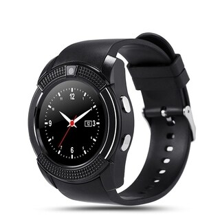 V8 Smart Watch support Sim TF Card 0.3M Camera Slot Bluetooth Clock Smart Watch for IOS Android