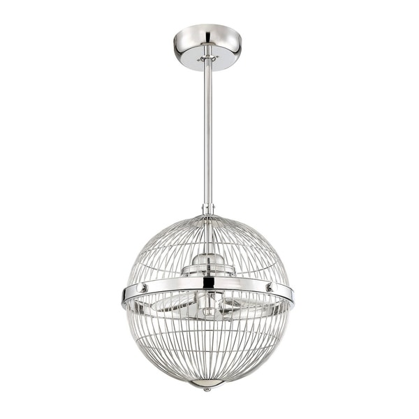 "Arena 17"" Pendant Fan D'Lier Chrome"