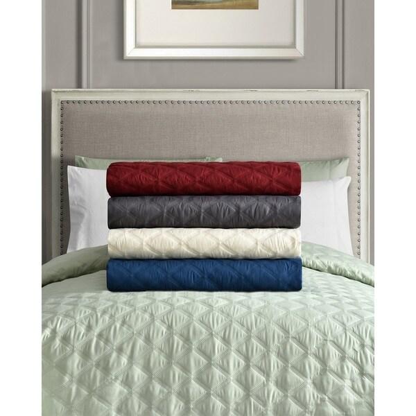 Porch & Den Tremont Buhrer Solid Bedspread