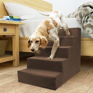 5 Step Portable Pet Stairs By Home Base
