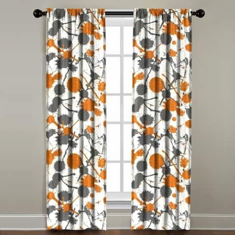 Paint Splatter Window Panel