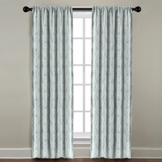 The Pillow Collection Sydney Blue Cotton Window Panel