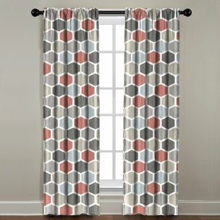The Pillow Collection Hexagon Window Panel