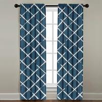 Crosshatch Window Panel