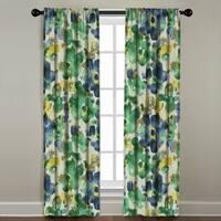 Watercolor Floral Window Panel