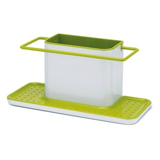 Caddy Large Sink Tidy in White and Green