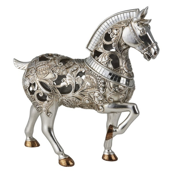 Ore International Langi Home Décor Trojan Horse Decorative Piece
