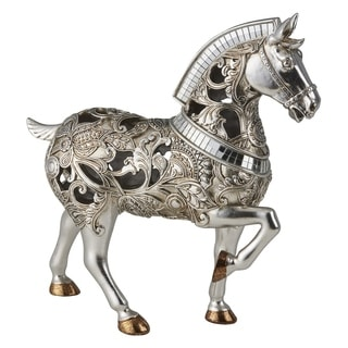 Ore International Langi Home Décor Trojan Horse Decorative Piece