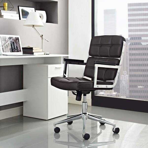 Stupendous Shop Portray Highback Upholstered Vinyl Office Chair Free Ocoug Best Dining Table And Chair Ideas Images Ocougorg