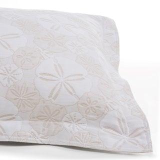 LaMont Home Sanibel Isle Collection - 100% Cotton Matelassé Coverlet Sham