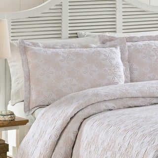 LaMont Home Sanibel Isle Collection - 100% Cotton Matelassé Coverlet
