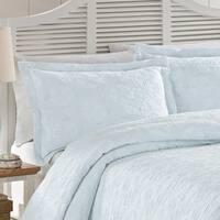 LaMont Home Sanibel Isle Collection - 100% Cotton Matelassé Coverlet