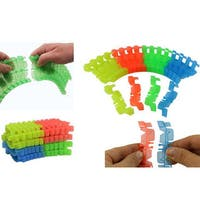 Magic Twister Light Up Glow In The Dark Tracks Extra 96-piece Track Set