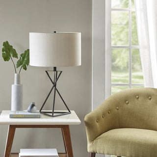 Madison Park Apollo Black Table Lamp