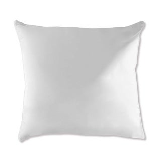 Under The Canopy Eco Pure Euro Square Pillow - White