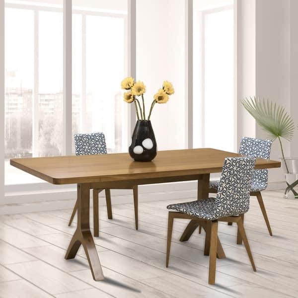 Saloom Hudson Flax Maple 36x72 Inch Rectangular Dining Table Overstock 17520701