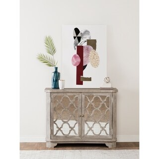 Leanne Solid Wood 34-inch Sideboard by Kosas Home