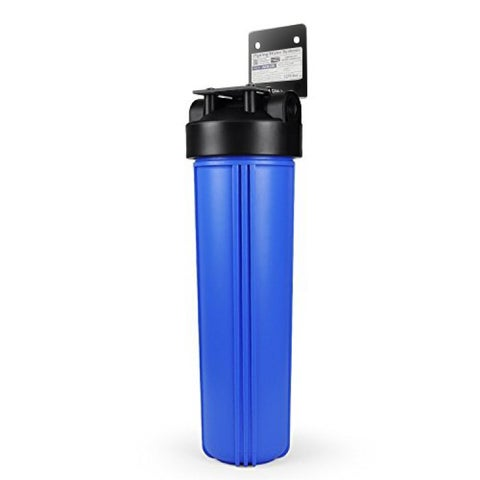iSpring 1-Stage Whole House Big Blue Water Filtration system w/ 20-Inch Carbon Block-WGB12B