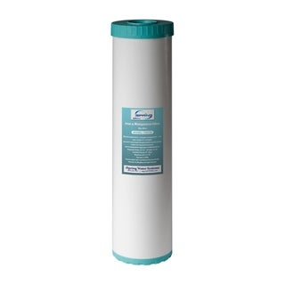 "iSpring Iron Manganese Reducing Big Blue High Capacity Replacement Water Filter - 4.5"" x 20"" - FM25B"