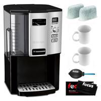 Cuisinart DCC-3000 Coffee-on-Demand 12-Cup Programmable Coffeemaker Bundle (Refurbished)