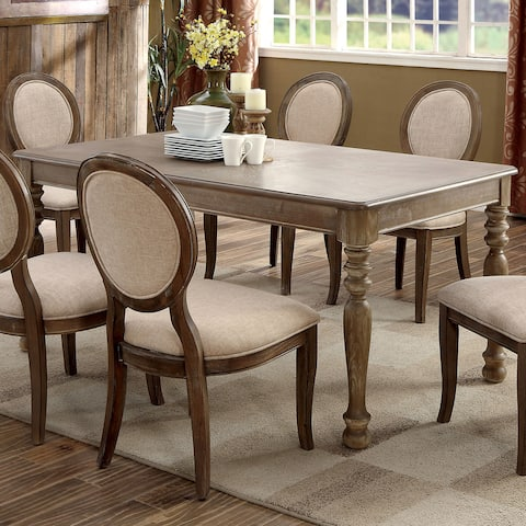 The Gray Barn Louland Falls Traditional Rustic 66-inch Dining Table